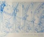 013_Interior-Entrance---Barge-Galleon-Sketch
