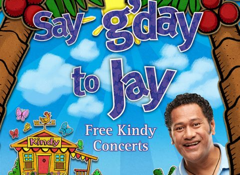 'Say G'day to Jay' Illustrations