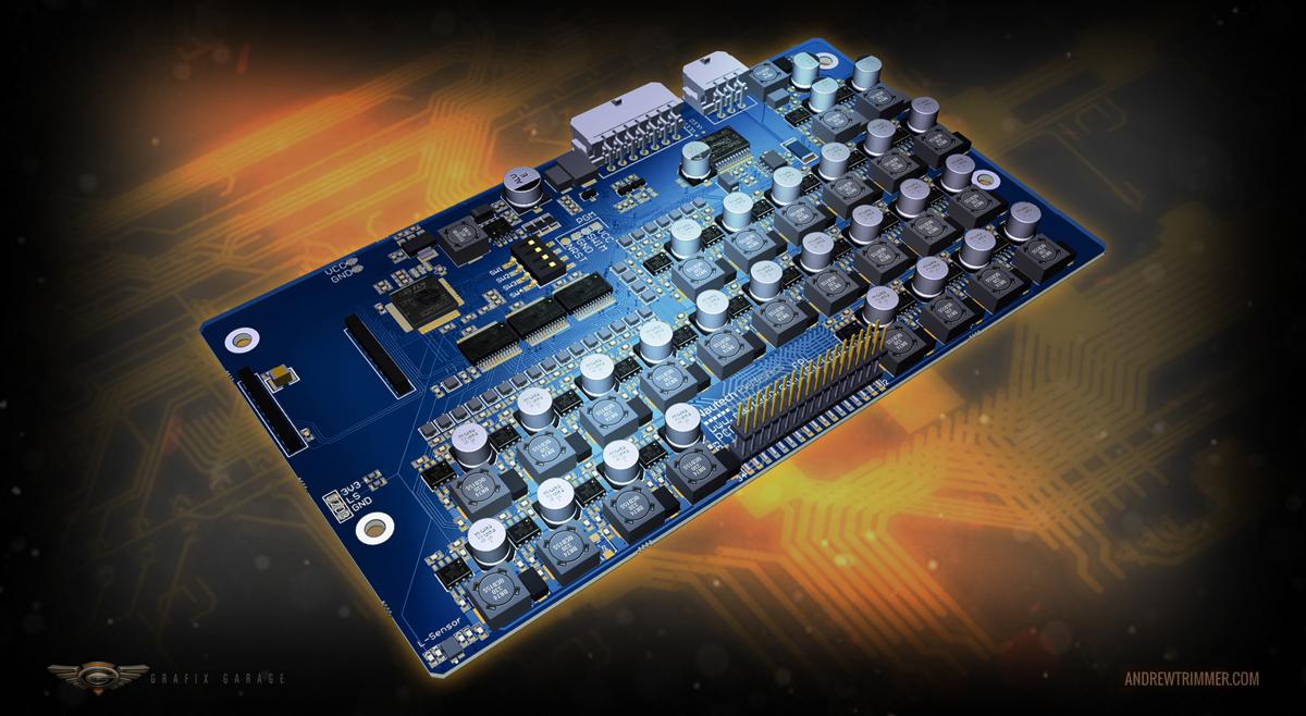 Nautech Circuit Board – Andrew Trimmer