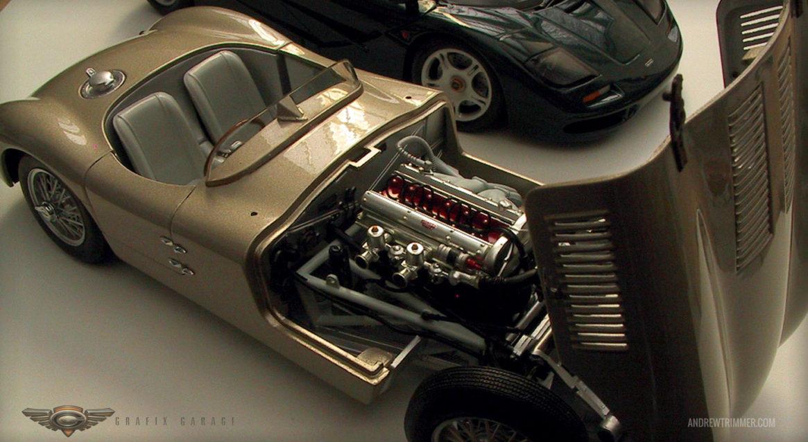 Type 3 Hood Up & McLaren 3/4