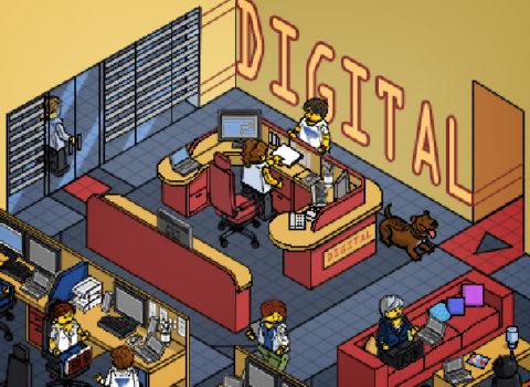 Vertis Pixel Lego Office